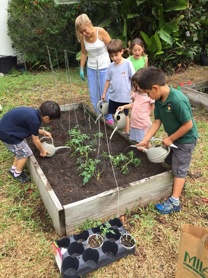 ICS Celebrates Earth Day With Gardening Event